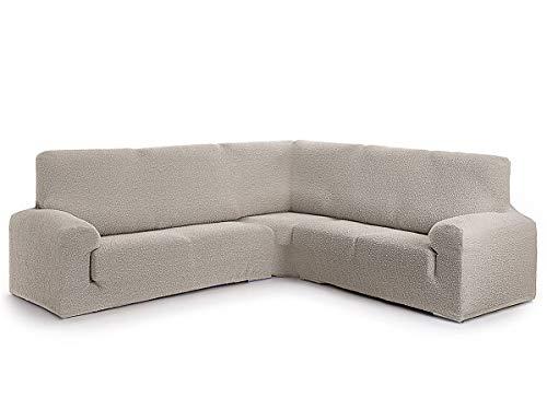 Lanovenanube - Funda sofá Rinconera ROC - 3+2 plazas - Color Crudo C00