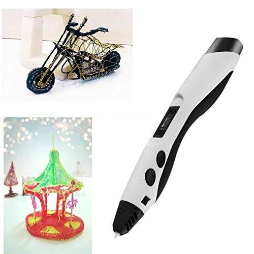ZHQHYQHHX Professional Intelligent 3D Printing Pen met OLED-scherm Stimuleer Children's verbeelding en praktische mogelijkheden 3D Printer ZHQEUR