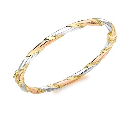 Carissima Gold Damen Armband 9 Karat (375) Tricolor 3.31.1563