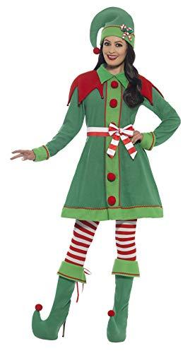 SMIFFYS 46129L Miss elfo costume da donna (grande)