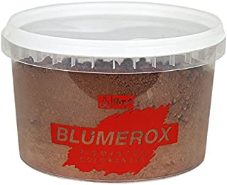 Rayt 1185-71 Polvo para Interiores y Exteriores Cemento Blanco o Gris, Cal y Yeso. Altísimo Poder colorante. Pigmentos de Primera Calidad. Color Marron 07, 450gr