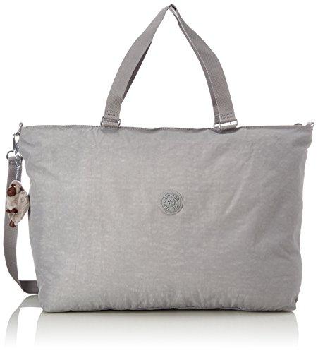 Kipling Xl Bag, Women's Cross-Body Grey (Clouded Sky), 15x24x45 cm...