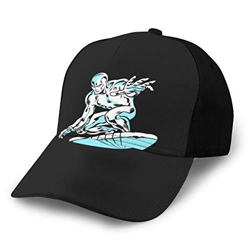 N/ Silver Surfer - Gorra clásica Ajustable de béisbol