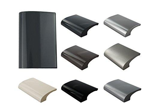 MS Beschläge Balkongriff Ziehgriff Terrassentürgriff Deluxe - Aluminium - diverse Farben (Anthrazit - RAL 7016)