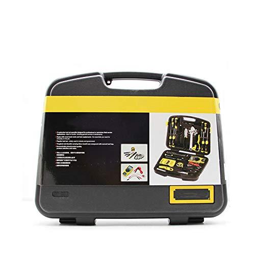 Juego de herramientas de hardware, juego de herramientas de telecomunicaciones de 53 piezas, caja de herramientas para electricistas de mantenimiento, mano de obra fina, almacenamiento ordenado,