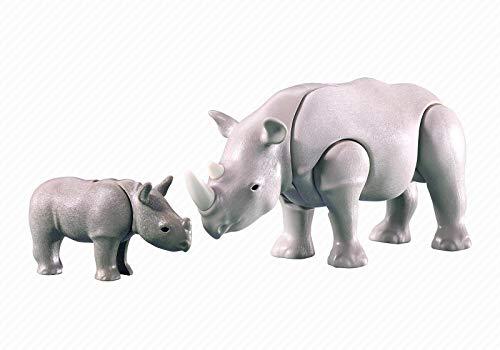 PLAYMOBIL® 7989 Nashorn mit Baby (Folienverpackung)