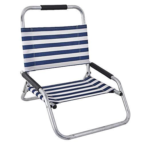 XUSHEN-HU Oxford Lounge Silla de Playa Plegable Plegable al Aire Libre Camping sillas de Picnic Traje para Instalar en Scooter Auto Equilibrio Sillón
