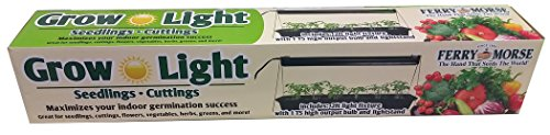 Plantation Products KLIGHT Ferry Morse Light for Seedling & Cuttings, Silver