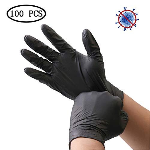 Handschuhe Einweg-Nitril-Arbeitshandschuhe Zum Reinigen, Mechanisch, Automobil, Industriell, Latexfrei, Puderfrei, 100 Stück