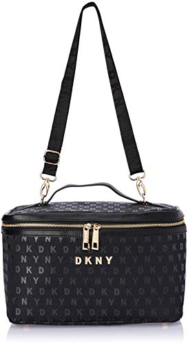 DKNY Signature Train Case, Black, One Size