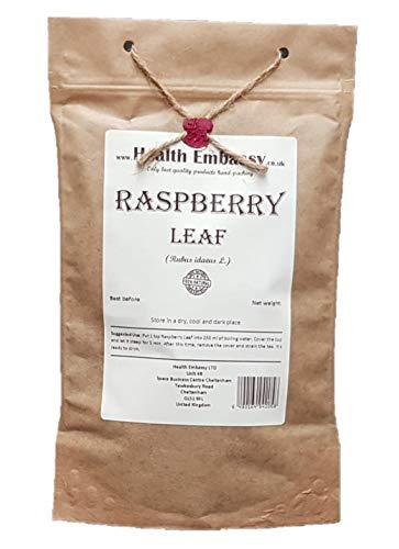 Hoja de Frambuesa 50g (Rubus idaeus) te de hierbas/Raspberry Leaf 50g - Health Embassy - Raspberry Tea 100% Natural