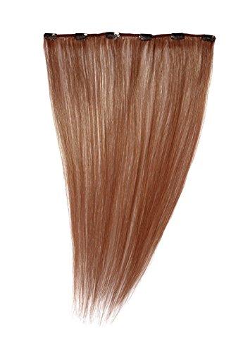 American Dream - A1/QFC12/18/130 - 100 % Cheveux Naturels - Barrette Unique Extensions à Clipper - Couleur 130 - Cuivre Rouille - 46 cm