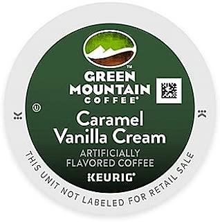 Keurig, Green Mountain, Caramel Vanilla Cream Coffee, K-Cup packs, 48-Count (Pack of 2)