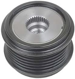Rareelectrical NEW Max 46% OFF 6 GROOVE CLUTCH COMPATIBLE Sales for sale WITH VOLKSW PULLEY