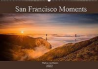 San Francisco Moments (Wandkalender 2022 DIN A2 quer): Eine persoenliche Auswahl von Eindruecken und Momenten festgehalten in 12 Bildern aus der Metropole San Francisco. (Monatskalender, 14 Seiten )