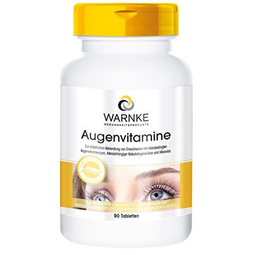 Vitaminas para los ojos – Complejo multivitamínico para la visión – 90 comprimidos