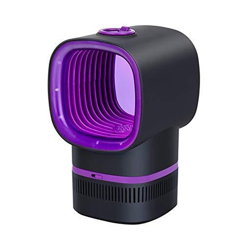 QuRRong Lámpara de Mosquitos Fotocatalizador USB Mosquitero Lámpara Asesino físico Asesino y lámpara de Cazador de Mosquitos para Patio Trasero (Color : Purple, Size : 13x22cm)