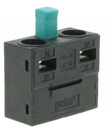 GEBA Schalteinsatz M-1T/1S, Schlüsselschalter-Einsatz.