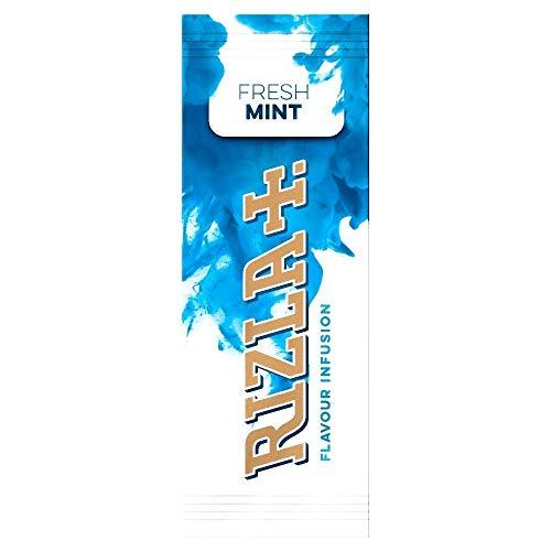 Rizla - Cartine per infusione all'aroma di menta fresca - Confezione da 25