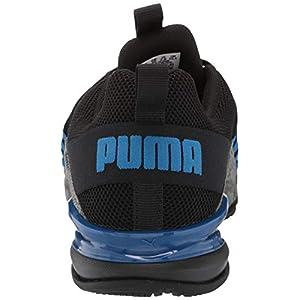 PUMA Men's Axelion Cyclone Cross-Trainer, Black-Lapis Blue, 9.5