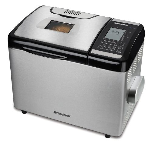 Breadman TR2700 Stainless-Steel Programmable Convection Bread Maker: Kitchen & Dining