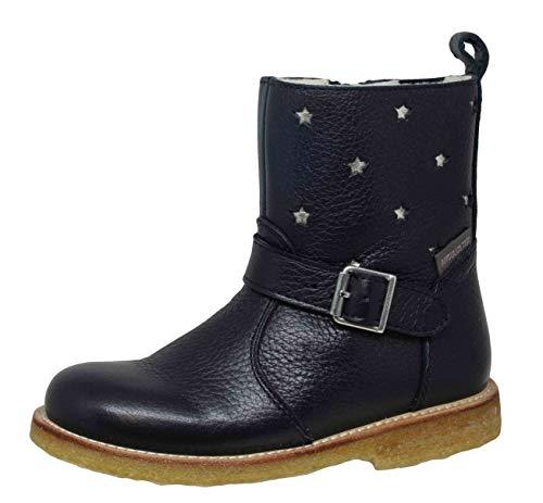 Angulus 2047-201 Mädchen wasserdichte Tex Winter Boots Stiefel, Blau (Blue), EU 28
