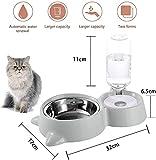 Zoom IMG-1 doppia ciotola per animali domestici