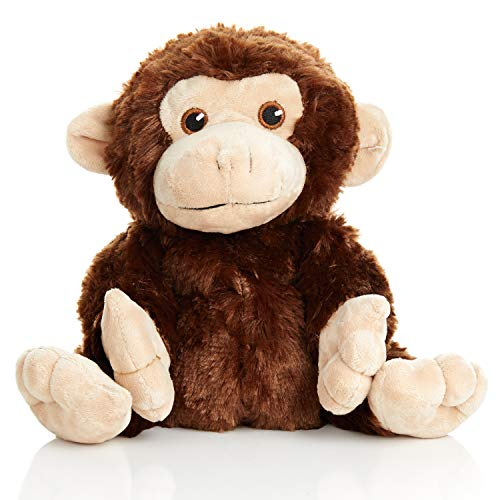 Warm Pals Microwavable Lavender Scented Plush Toy Stuffed Animal - Marvin The Monkey