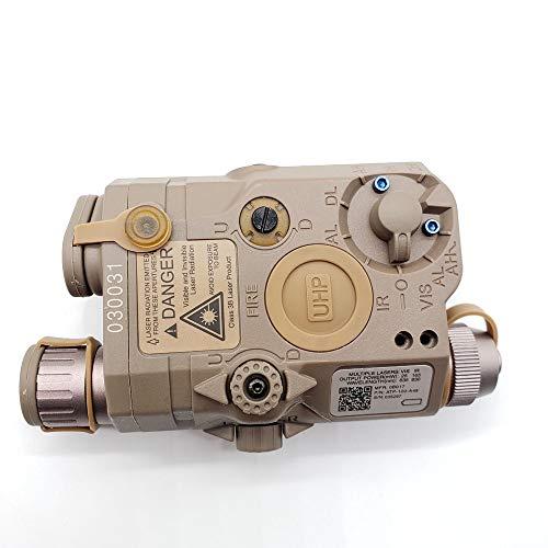 FIRECLUB PEQ-15 Style Battery Case Box Sight + LED Flashlight Black/DE for AEG GBB CQB (tb69)
