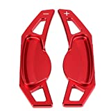 rpbll para Benz Smart 451 453 fortwo forfour Volante del Coche paletas de Cambio Accesorios de diseño de automóviles de aleación de Aluminio-Rojo