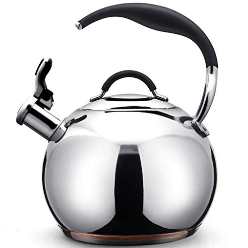 HCCHZR Best Teakettle Whistling Stainless Steel stove top Teapot Tea Kettle Pot Stovetop