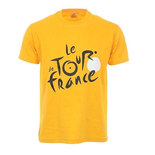 Tour de France Herren TDF-SA-3000 J L/B T-Shirt, gelb, L