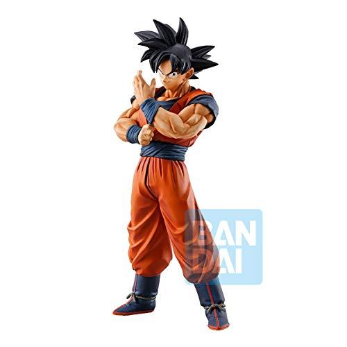 Dragon Ball – Son Goku Starke Ketten – Figur Ichibansho 25 cm, schwarz