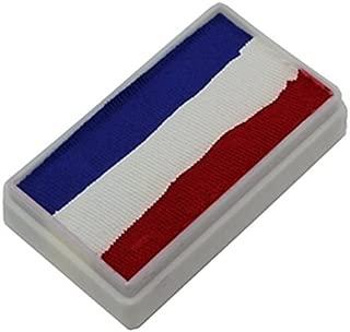 TAG 1-Stroke Split Cakes - 3 Color Red/White/Blue (30 gm)