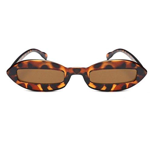 Fantasi Quadrato Telaio Acetato Telaio Retro Occhiali da sole per Donne eyewear UV Bicchieri Fancy Quadrate Frame Shades Acetate Sunglasses Glasses (B)