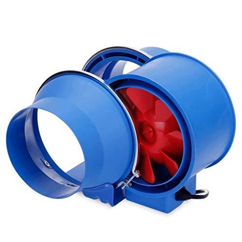 RJSODWL Ventilación de la salida del ventilador, ventilador de escape fuerte extractora de montaje en pared de escape Ventilador de techo ventiladores incorporados de ventilación del hogar sin enchufe