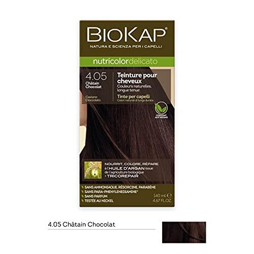 Coloration cheveux Nutricolor Delicato chatain chocolat 4.05