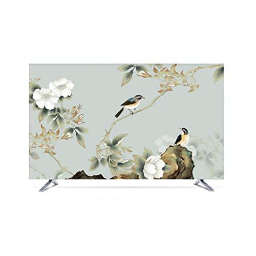 MFMYUANHAN Cubierta Protectora de Pantalla de TV en Cubiertas de monitores en Protectores de Pantalla para televisores 55 Pulgadas 60 Pulgadas Cubierta de TV LCD para el hogar(Size:75in,Color:3#)