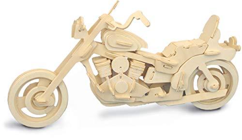Quay Moto Americana artesanía en Madera Kit de construcción FSC