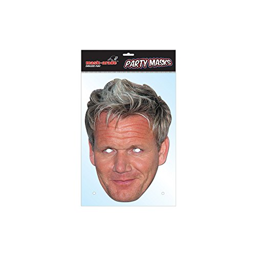 Party Bags 2 Go Masque de célébrité Gordon Ramsey.