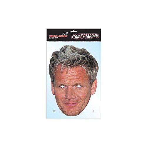 Party Bags 2 Go Masque de célébrité Gordon Ramsey.