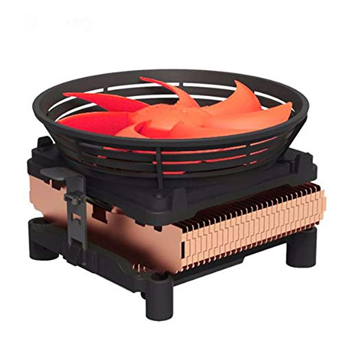 LQ Silent CPU Cooler W/ 100Mm PWM 4Pin Ventilator voor Intel LGA775 /LGA1155 /LGA1156,AMD Socket 754/939 /AM2 /AM2+ /AM3 /FM1 /FM2