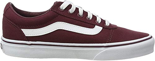Vans Damen WM Ward Sneakers, Rot ((Canvas) Burgundy Olq), 39 EU