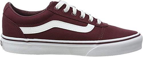Vans Damen WM Ward Sneakers, Rot Canvas Burgundy Olq, 38.5 EU