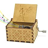 Queen Music Box Bohemian Rhapsody Song, 18 Note Hand Crank Mechanism Antique Carved Music Box Crafts Toy (Hand Crank2)