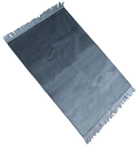 Alfombra de oración sin adornos, tamaño 70 x 110 cm – Alfombra de oración musulmana Namaz-LIK Seccade, alfombra de oración, Salah, Sejadah, Seccade, Islamic Prayer mat Rug, para la oración en el Islam