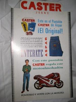 DISPLAY CARTÓN : ASPAR - Publicidad marca CASTER
