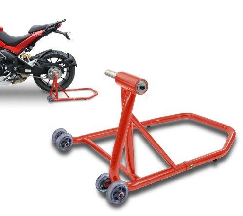 ConStands – Einarm Montageständer Ducati Supersport/S 17-20 Rot Hinterrad Single Classic Motorrad inkl. Adapter