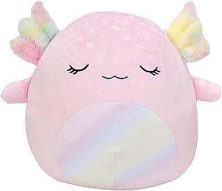 Squishmallows Official Kellytoy 14 Inch Soft Plush Squishy Toy Animals (Cressida Axolotl Glow in The Dark)