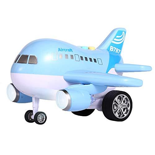 Kids AIRBUS deformazione ROBOT A380 Bump /& Go Giocattolo Elettrico con Light /& music